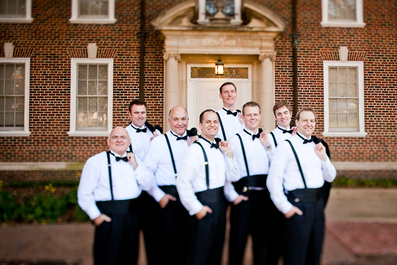 perkins chapel wedding groomsmen
