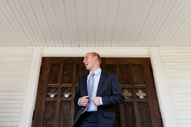 Jason Leo Durbin groom before wedding