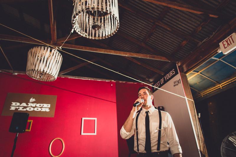 Best man speech at Pine Street Station wedding