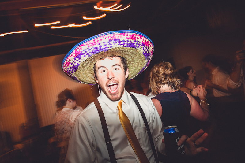 Brendan Pittman at Cinco de Mayo wedding