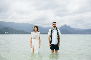Joe & Katie: Kailua, Hawaii Wedding