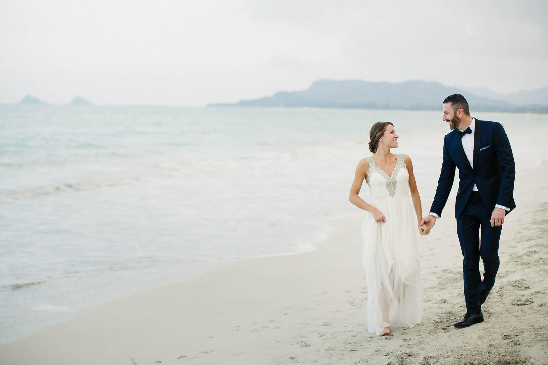 Joe & Katie\'s sandbar wedding in Hawaii | Geoff Duncan | Austin ...