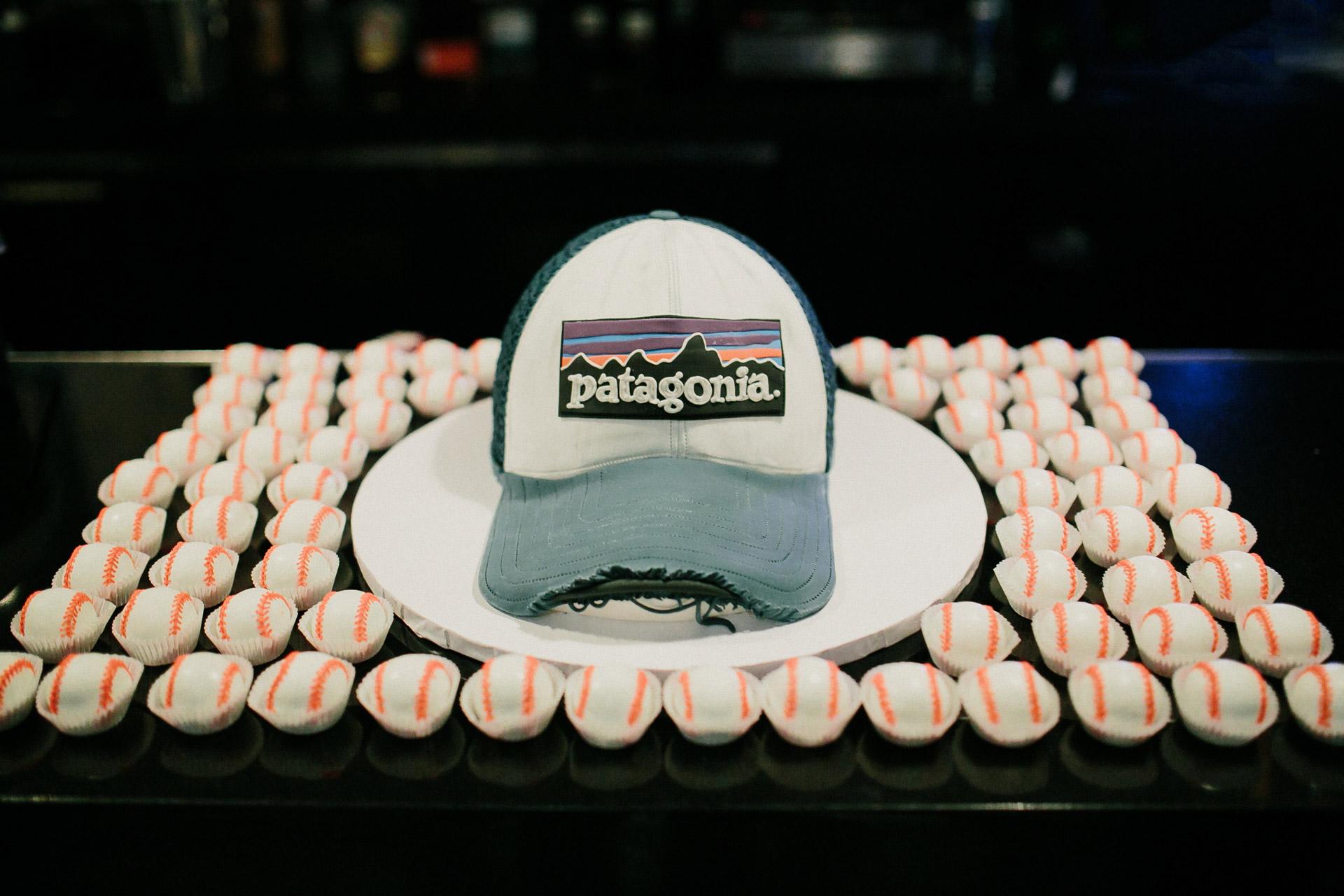 Patagonia wedding cake