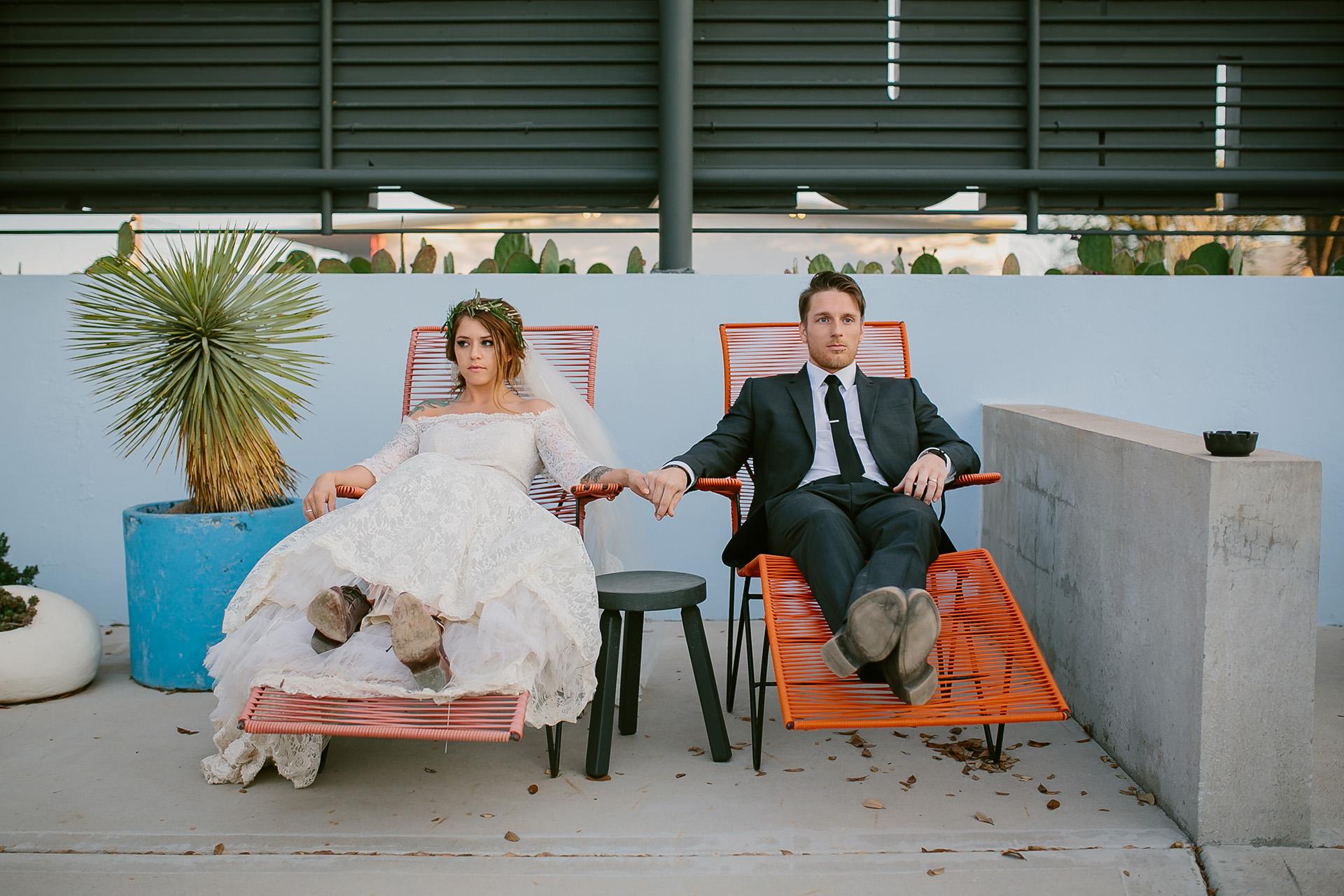 Chase & Lauren: Marfa, TX Wedding