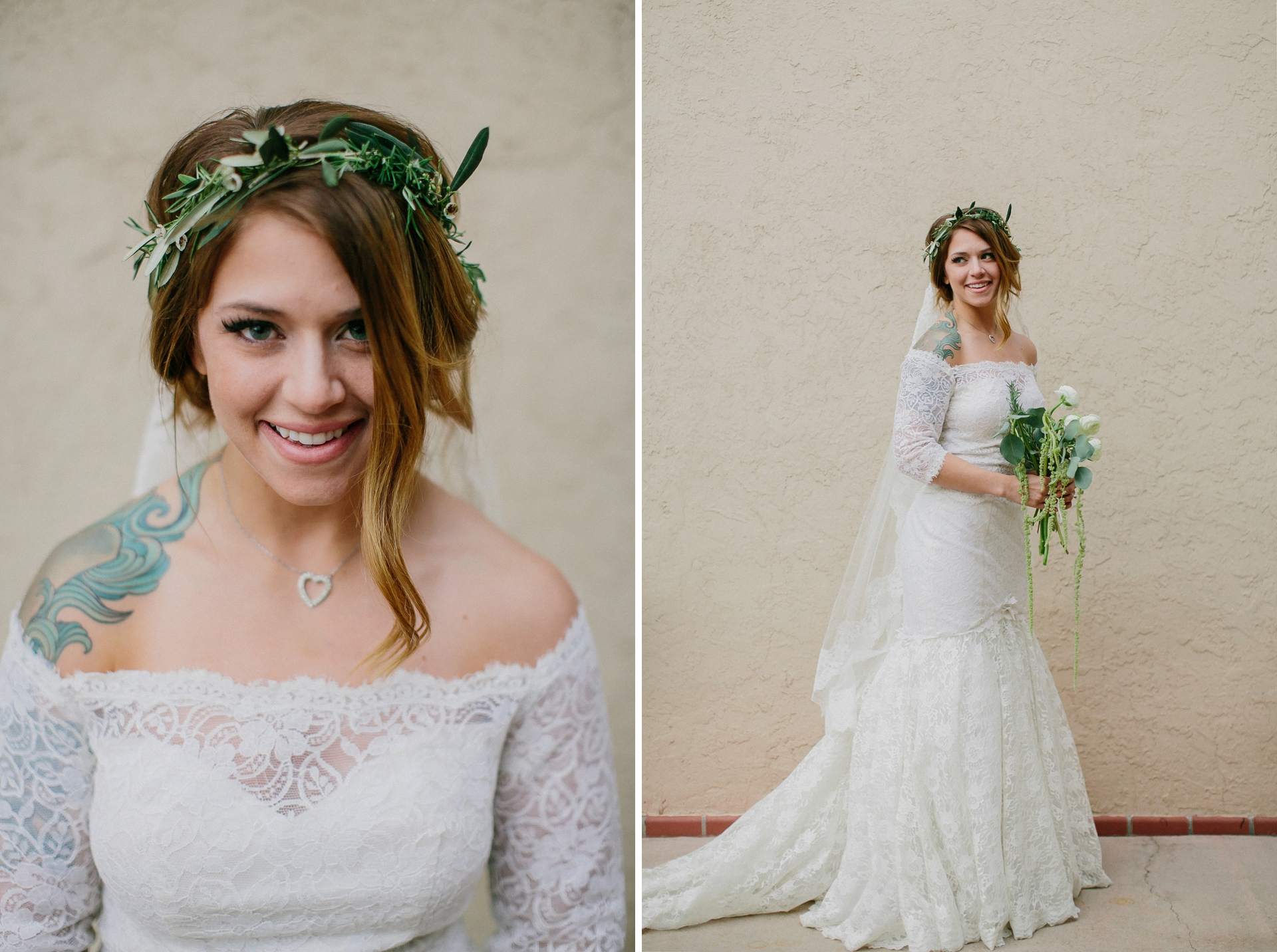 marfa bridal portrait