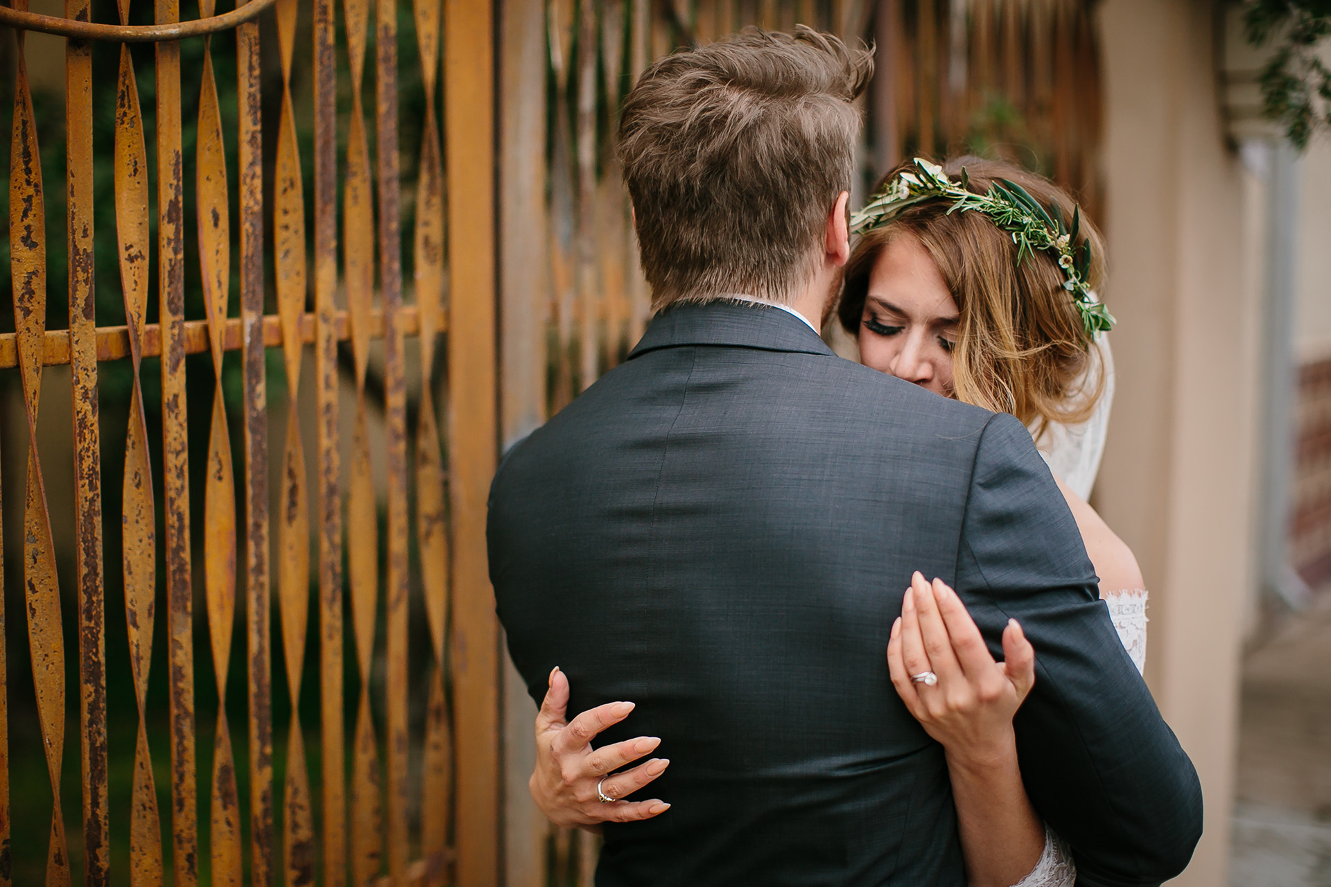 intimate wedding portraits in marfa