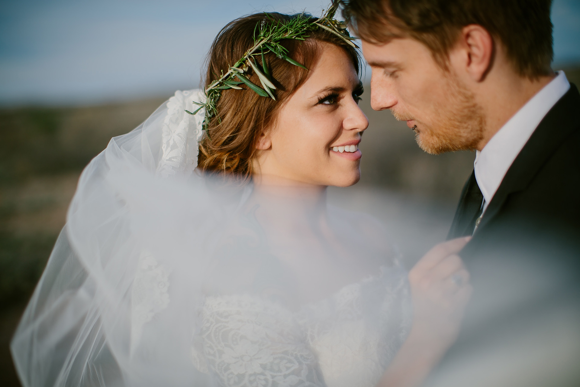 west texas wedding portraits