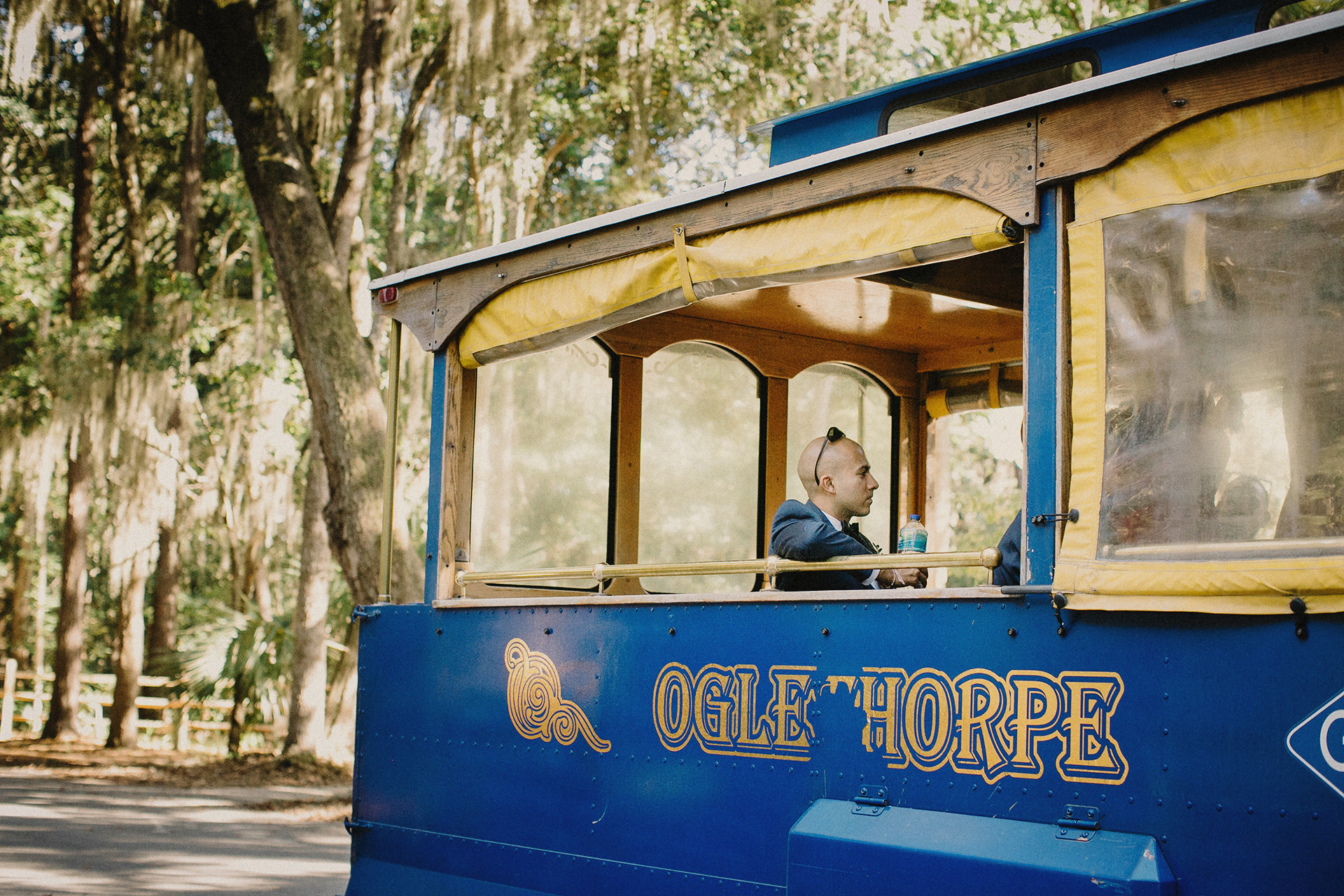 savannah blue trolly