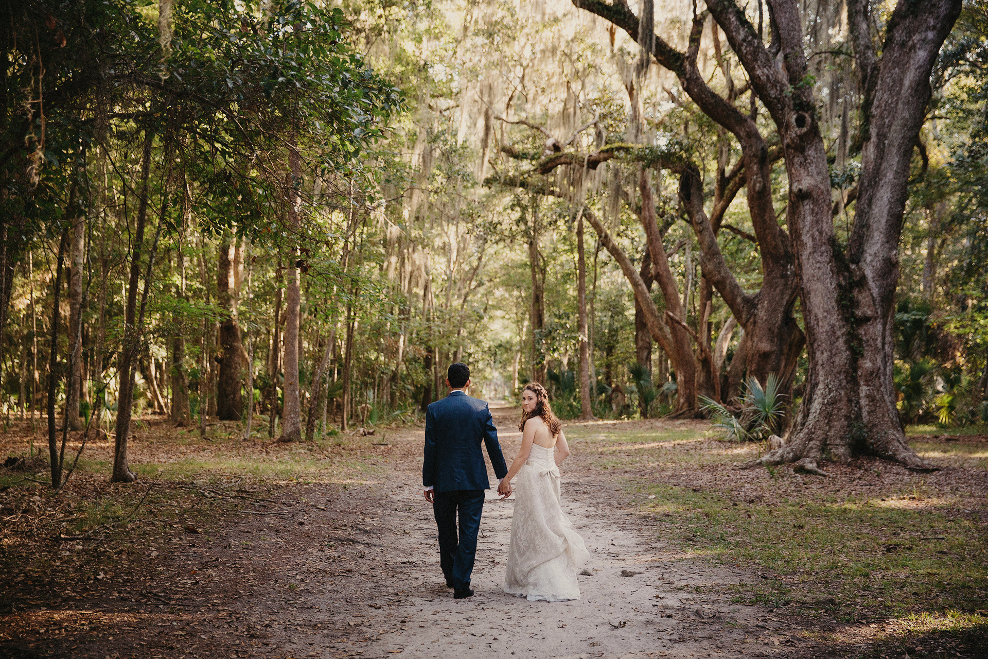 wormsloe wedding portraits