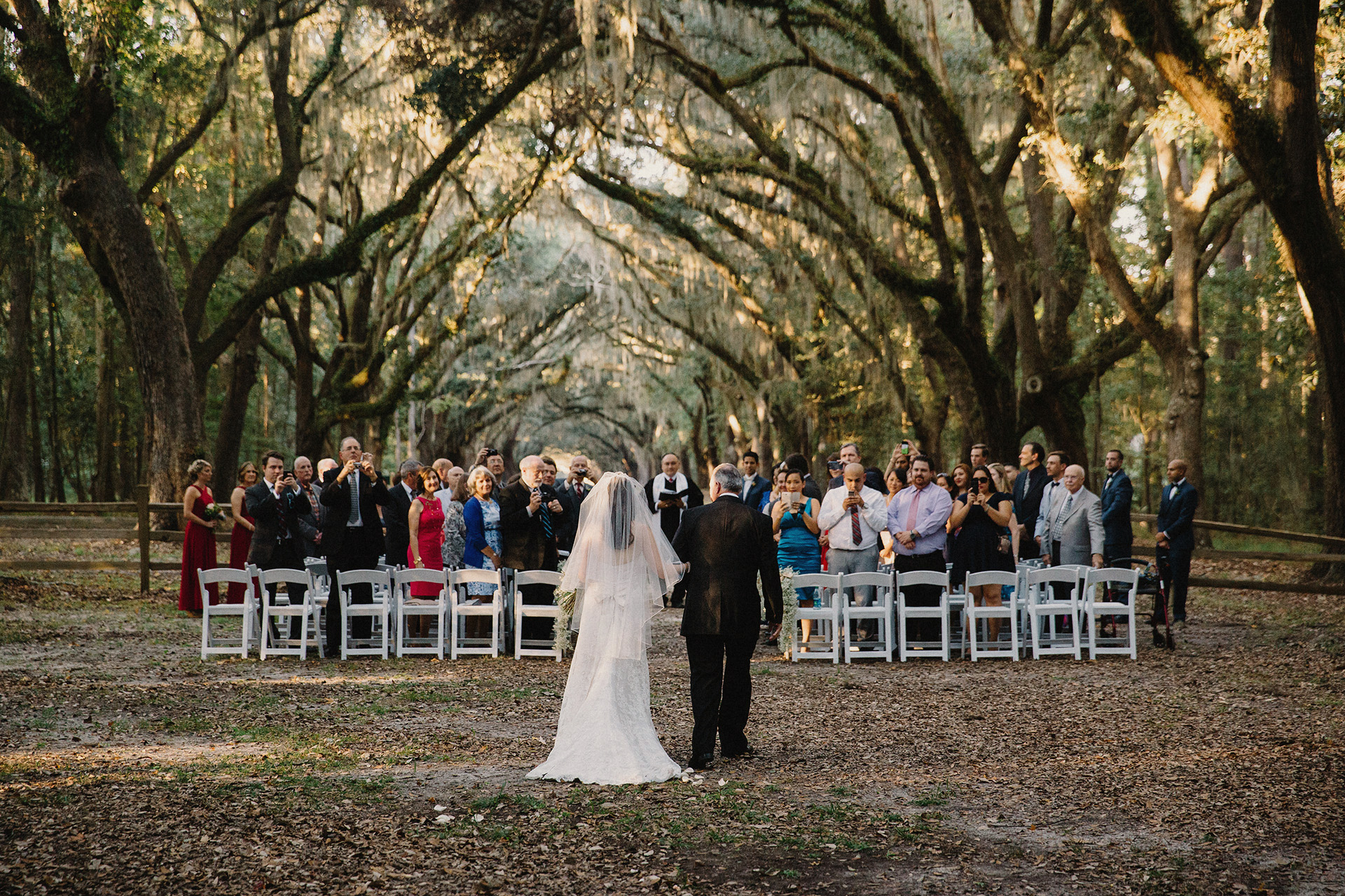 beautiful savannah wedding at wormsloe