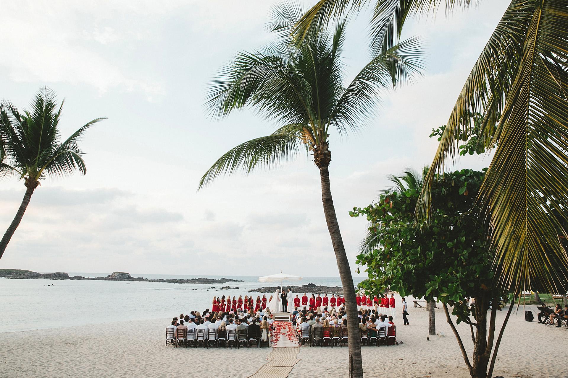 st regis hotel wedding punta mita