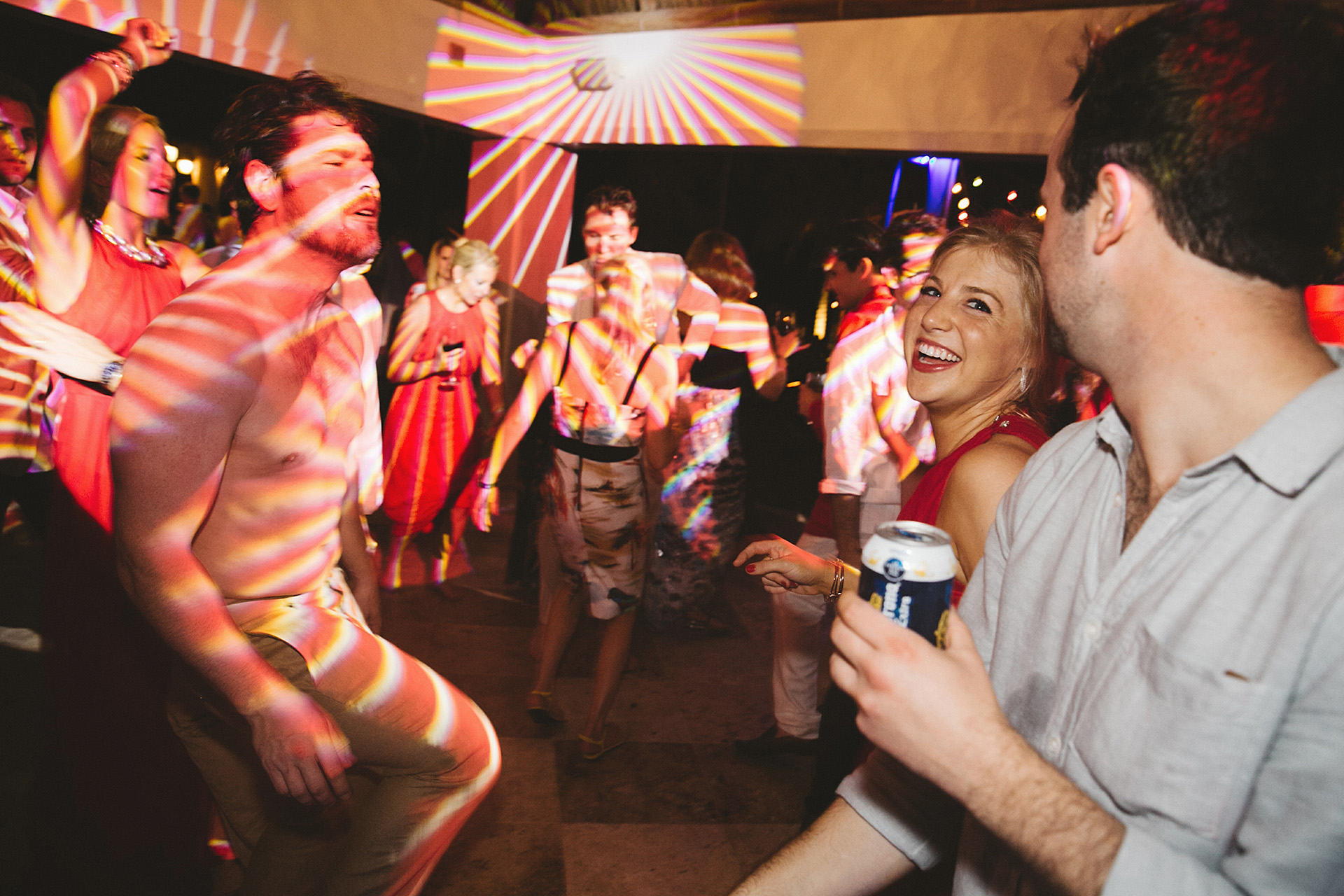 wedding reception st regis punta mita