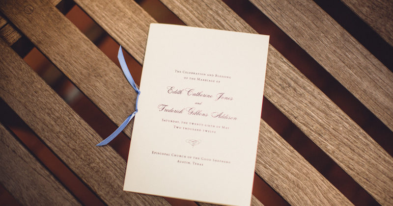 Edy + Gibbons: Wedding