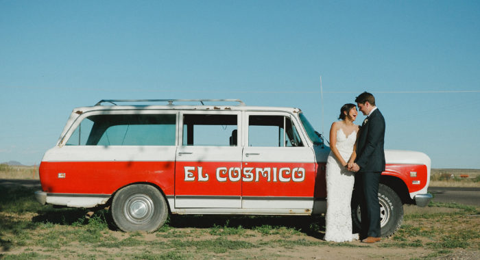 Marfa Elopement: Sam + My