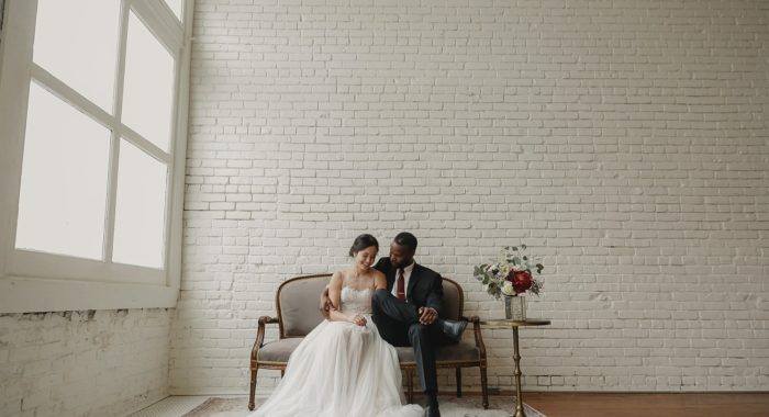One Eleven East Wedding: Zach + Cathy