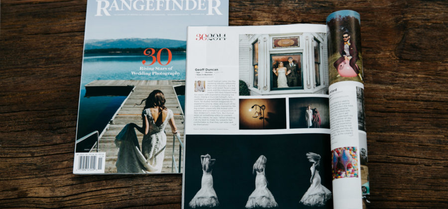 Rangefinder Magazine: 30 Rising Stars in Wedding Photography
