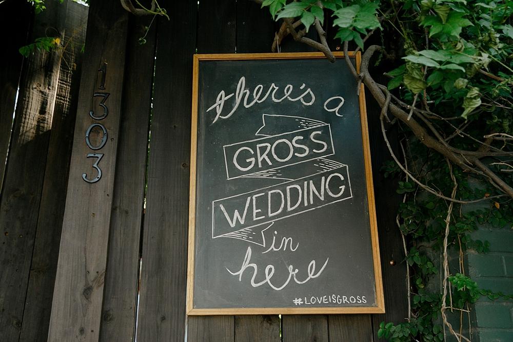 Gross wedding Austin